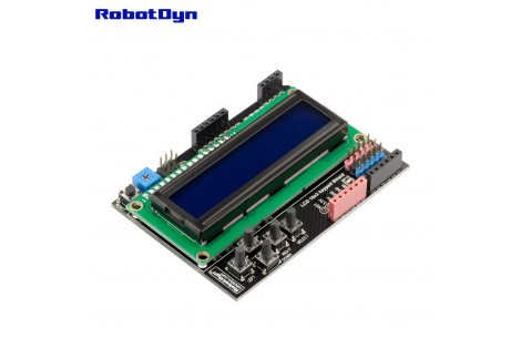 LCD 16x2 + keypad Shield for Arduino ( Blue )