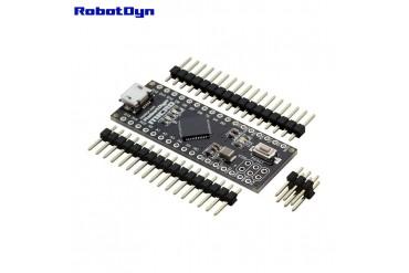Micro ATmega32U4-MU ( Pinheaders NOT SOLDERED )