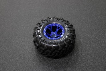 130mm Traxxas HSP Tamiya Robot Tire ( Blue )