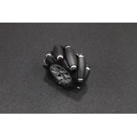 4mm Bore 96mm Omnidirectional Mecanum Right Wheel