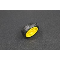 Smart Car Wheel for Yellow Motor