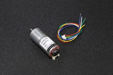 GM25-370-24140 DC Gear Motor ( 100RPM ) with Cable