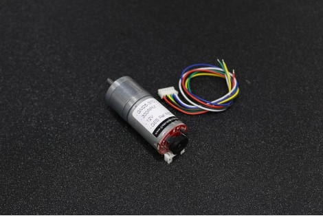 GM25-370-24140 DC Gear Motor ( 300RPM ) with Cable