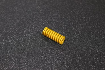 Yellow Hot Bed Leveling Spring  ( 25x10mmm )