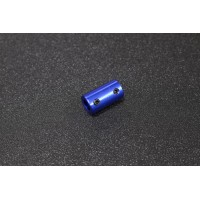 ( OD 14mm, ID 5mm and 8mm, Blue Anodize ) Fix Aluminium Alloy Motor Couplings