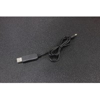USB 5V to 12V 5.5mm DC Jack Power Booster Cable