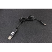 USB 5V to 9V 5.5mm DC Jack Power Booster Cable