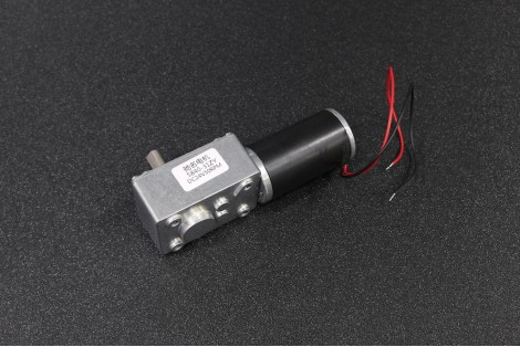 5840-31ZY 24V 50RPM Self-Locking Turbine Worm Motor