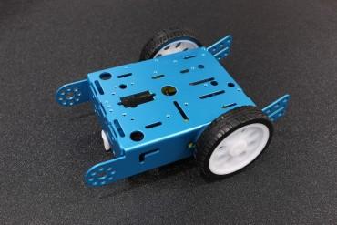 2 Wheel Aluminum Smart Robot Car Chassis
